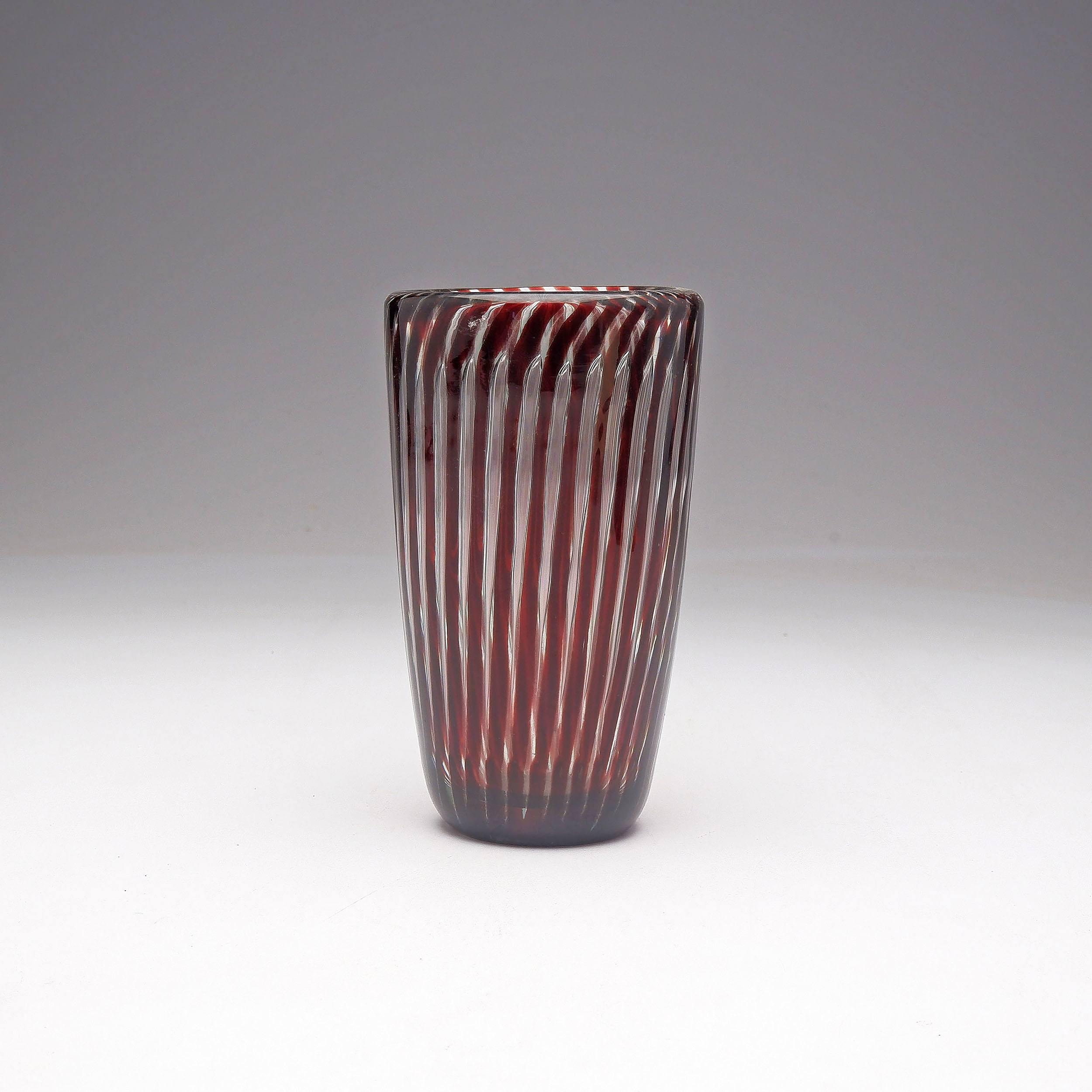 'Edvin Ohrstrom (1906-1994) Ariel Vase for Orrefors'