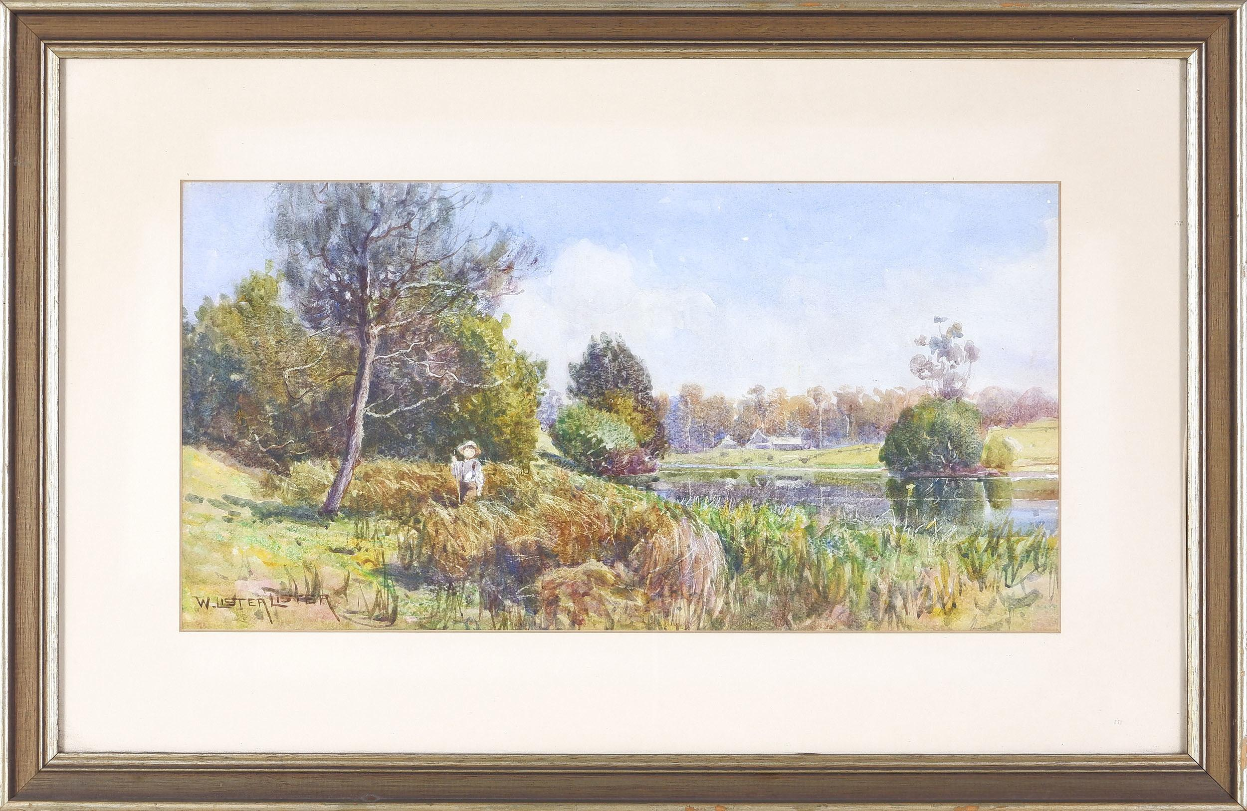 'William Lister Lister (1859-1943) Watercolour'