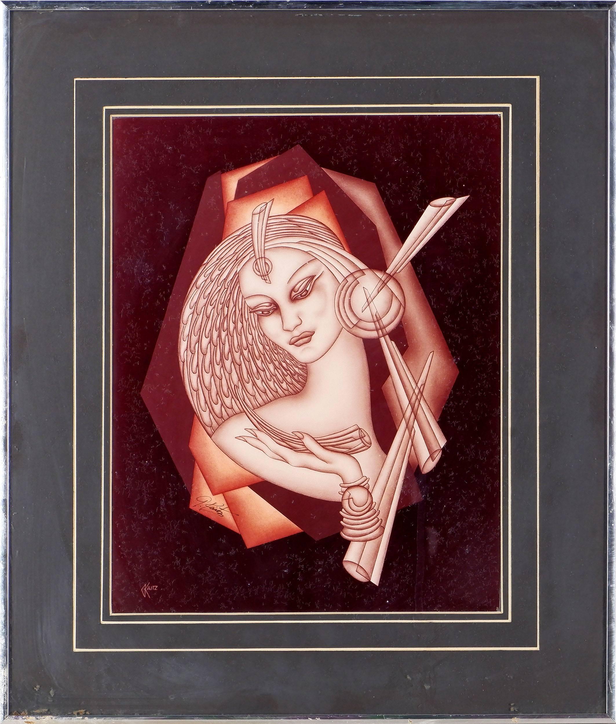 'Gustave Kaitz (American 1913-1992) First Edition Original Decograph'