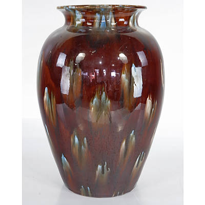 Large 1930s Regal Mashman Vase