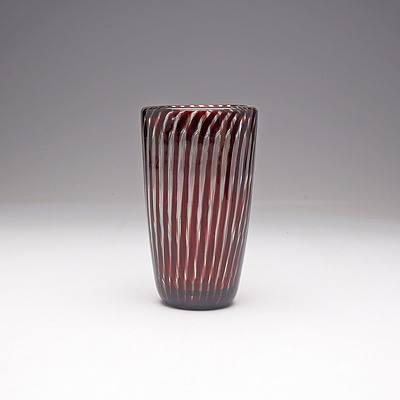 Edvin Ohrstrom (1906-1994) 'Ariel' Vase for Orrefors