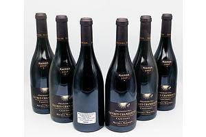 """6x Bottles of 750ml 2007 Domaine Michel Magnien Gevrey-Chambertin Premier Cru """"Cazetiers"""" - RRP: $690"""