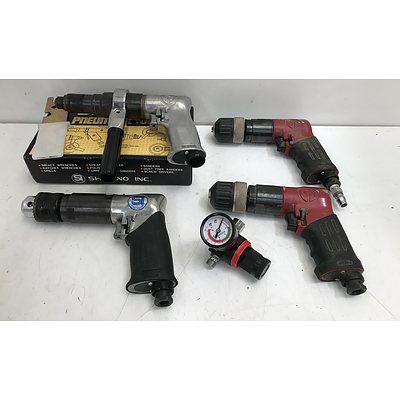 Pneumatic Drills -Lot Of Four
