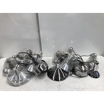 Designer Stainless Steel Light Shades -Lot Of 20
