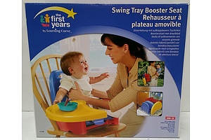 The First Years Swing Tray Booster Seat - New