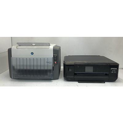 Epson And Konica Minolta Printers