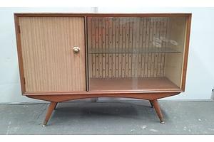 1950's Vintage Timber Laminate Cabinet