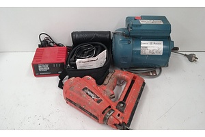 Assorted Lot of Tools and Motor