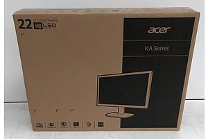 Acer (KA220HQ) 22-Inch Full HD (1080p) Widescreen LED-Backlit LCD Monitor *Brand New