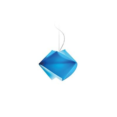 SLAMP Gemmy Glacè/Blue Suspension Lamp - Lot of Nine - RRP $2,970.00 - Brand New