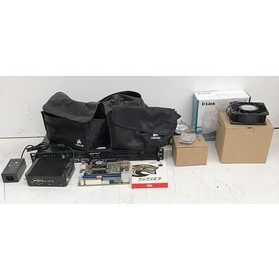 Bulk Lot of Assorted IT Equipment & Components