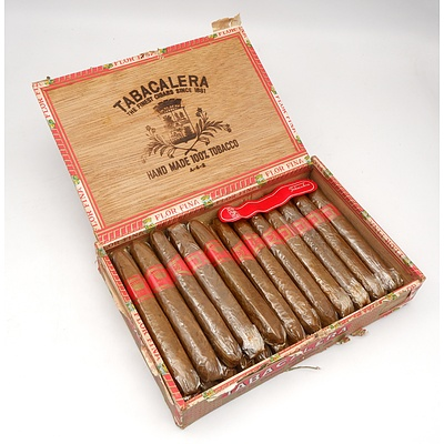 Tabacalera Hand Made 100 % Tobacco Cigars - Part Box of 18