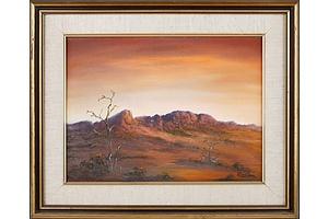 Jack Absalom (b1927-2019), Kronji Rocks, Oil on Canvas