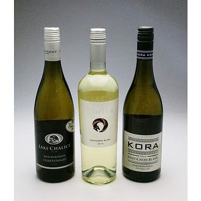 Three Mixed White Wines (3)