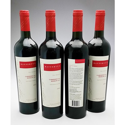 Rafferty's 2001 Cabernet Merlot - Lot of Four Bottles (4)