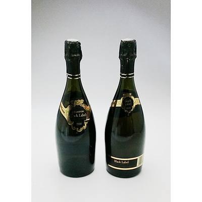Morton Black Label Methode Traditionale  - Lot of Two Bottles (2)