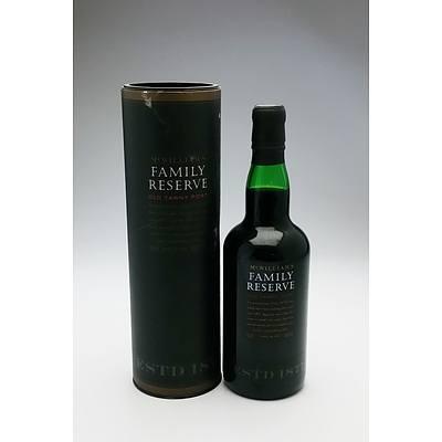 McWilliams Family Reserve Old Tawny Port - 750 ml in Presentation Box