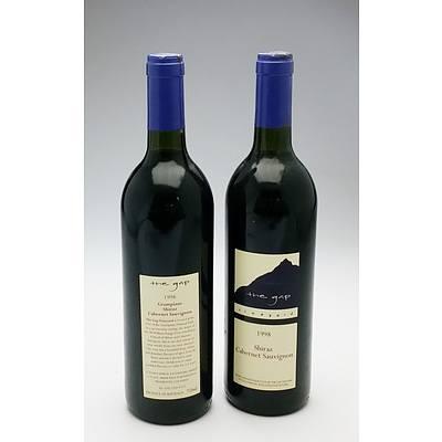 The Gap 1998 Shiraz Cabernet Sauvignon - Lot of Two Bottles (2)