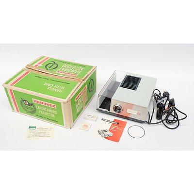 Hanimex Hanomat 35ml Colour Slide Projector in Original Box