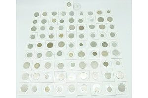 Large Group of Various Coins