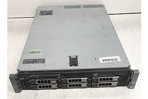 Dell PowerEdge R710 Dual Intel Quad-Core Xeon (E5530) 2.40GHz CPU 2 RU Server