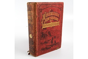 Anthony Trollope, Australia and New Zealand, Authorized Australian Edition, George Robertson, Melbourne, 1878, Hardcover