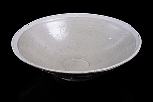 Chinese White Ware Bowl, Fujian Trade Ware, Song to Yuan Dynasty