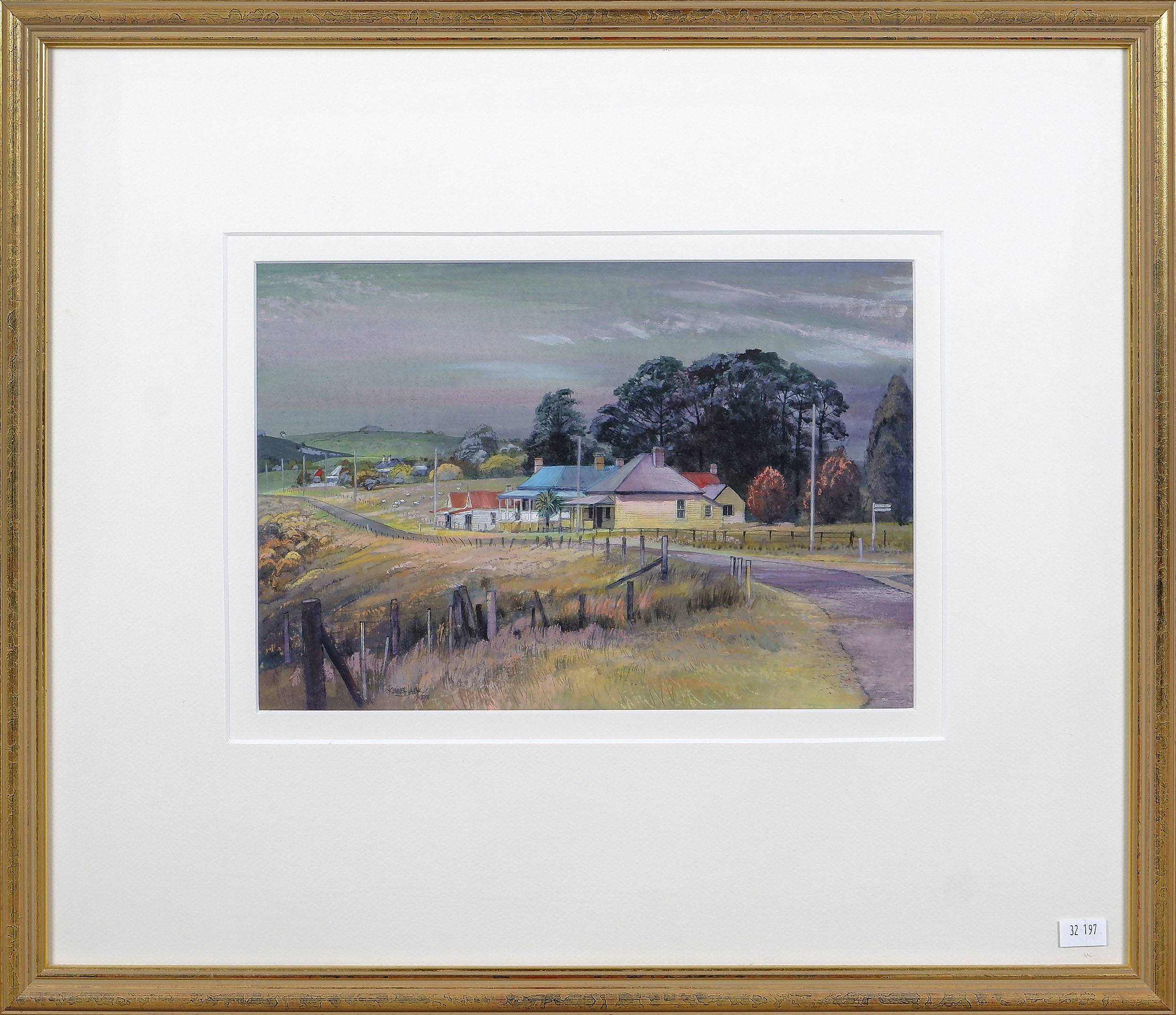 'Kenneth Jack (1924-2006) Majors Creek NSW 1991, Watercolour and Gouache on Paper'