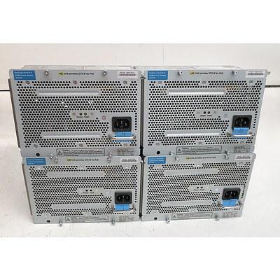 HP ProCurve Switch zl (J8712A) 875W Power Supply - Lot of Four