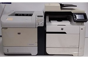 HP LaserJet P4515x & Pro 300 colour MFP M375nw Printers