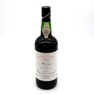 Rutherfords Malmsey Sweet Madeira Wine 750ml