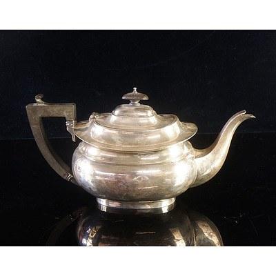 Antique Sterling Silver Teapot - William Adams Ltd Birmingham 1921