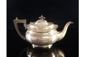 Antique Sterling Silver Teapot - William Adams Ltd Birmingham 1921