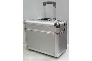 Aluminum Wheeled Briefcase - Brand New