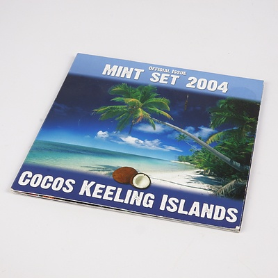 Limited Edition 2004 Cocos Keeling Islands Mint Coin Set