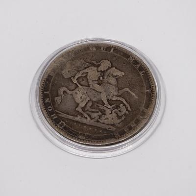 1819 George III Crown in Case