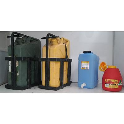 Mixed Lot Of Liquid Containers