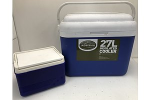 Jackeroo 27L Insulated Cooler with Smaller Cooler