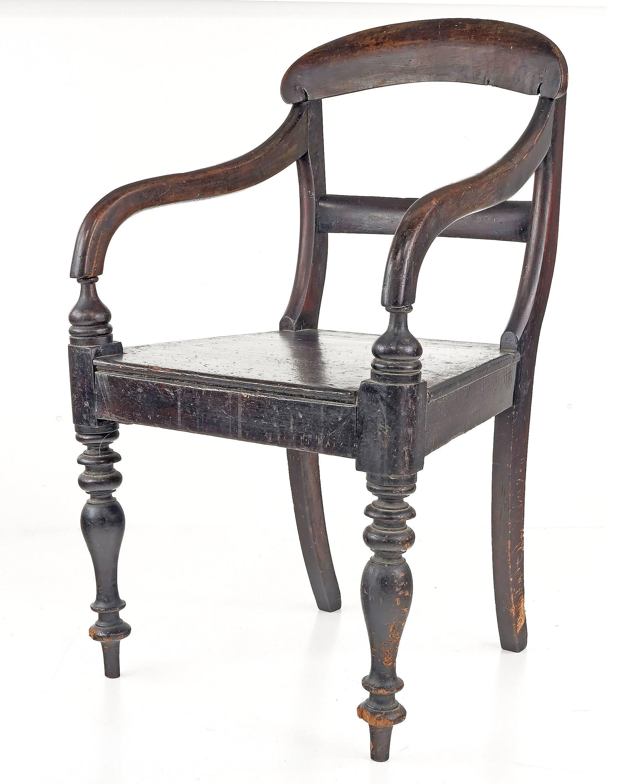 'Australian Colonial Cedar Carver Chair, Mid 19th Century'
