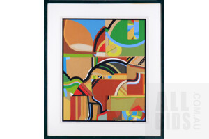 Maree Cunnington, Indian Summer 1975, Gouache, 65 x 50 cm