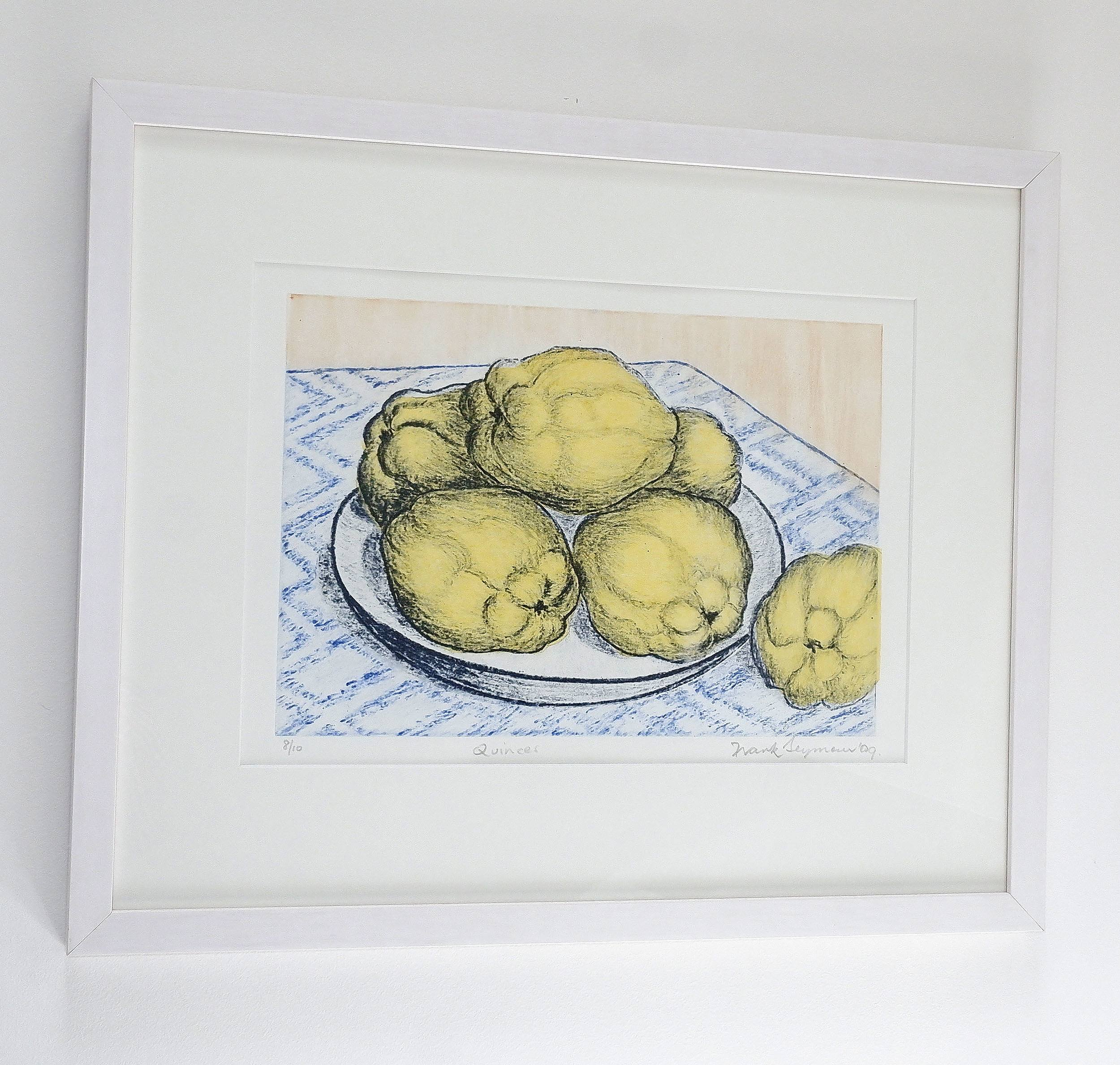 'Frank Seymour (20th Century, Australian), Quinces 2009, Photopolymer & Chine Colle '