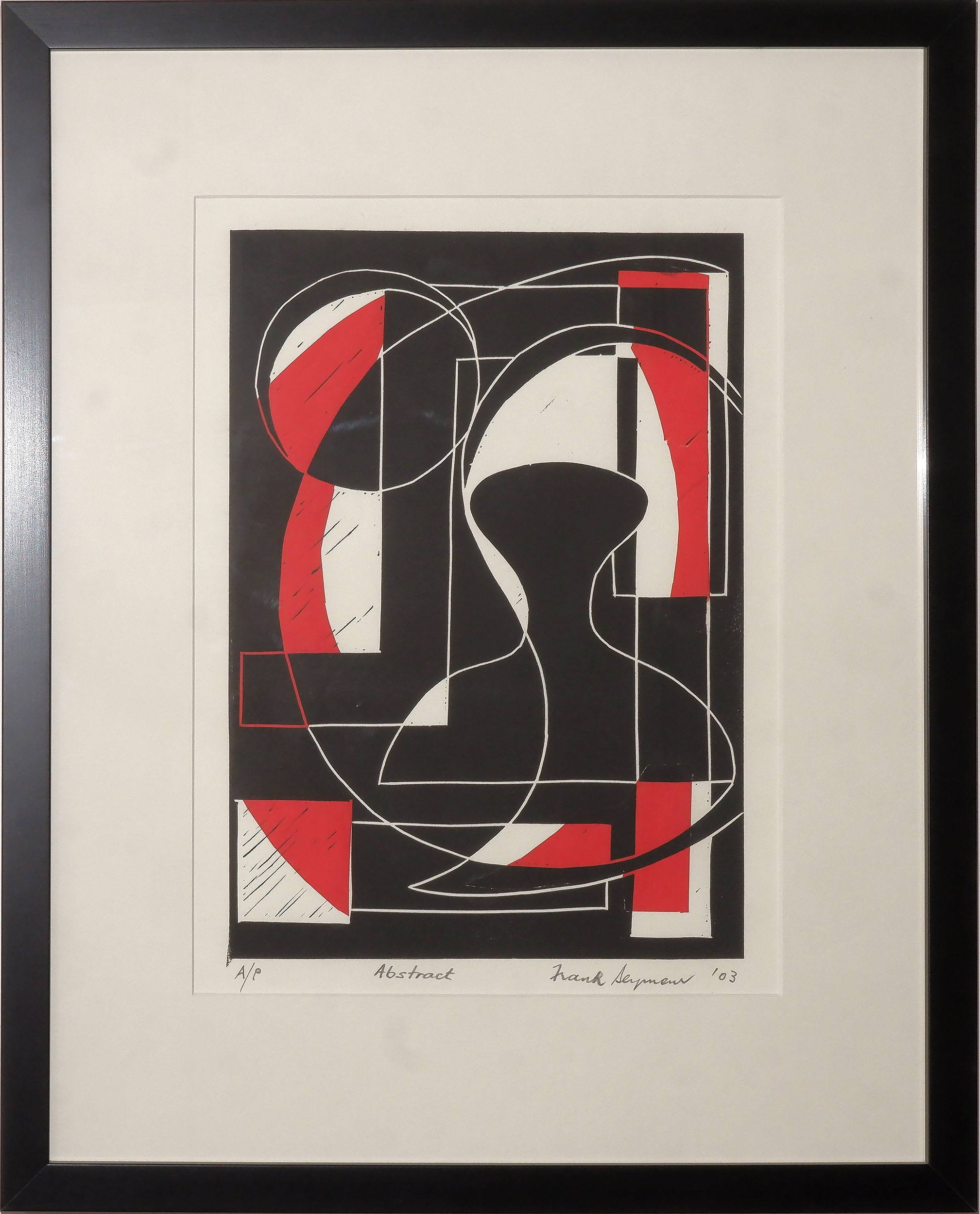 'Frank Seymour (20th Century, Australian), Abstract 2003, Lithograph'