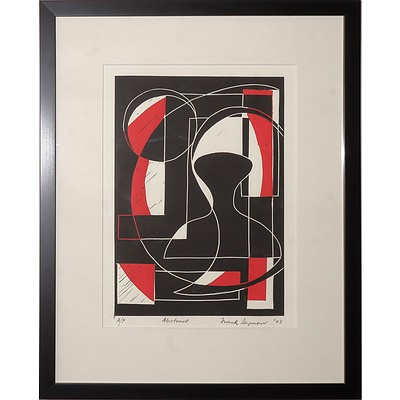 Frank Seymour (20th Century, Australian), Abstract 2003, Lithograph