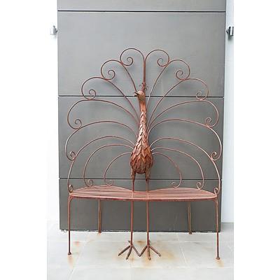 Michael Murphy (1965-1999), Garden Seat, Steel