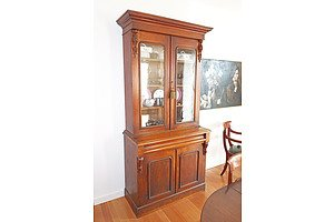 Antique Australian Cedar Bookcase, Circa 1880