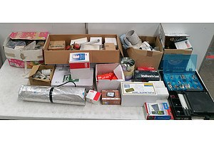 Bulk Lot Of Assorted Hardware And Irrigation Fittings
