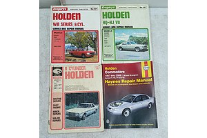 Lot Of Assorted Holden Service/repair Manuals