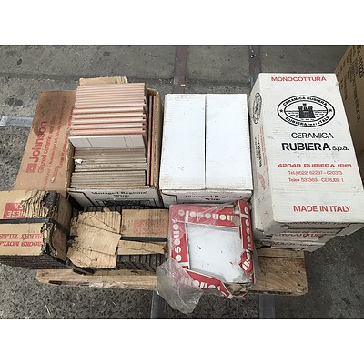 Lot Of Assorted Tiles