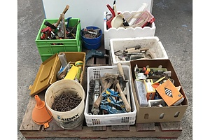 Large Lot Of Tools and Hardware