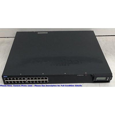 Juniper Networks (EX4200-24T) EX 4200 Series 8PoE 24-Port Gigabit Managed Switch